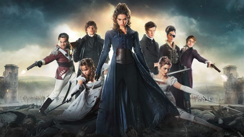 Pride and Prejudice and Zombies, Lily James, Sam Riley, Best Movies (horizontal)