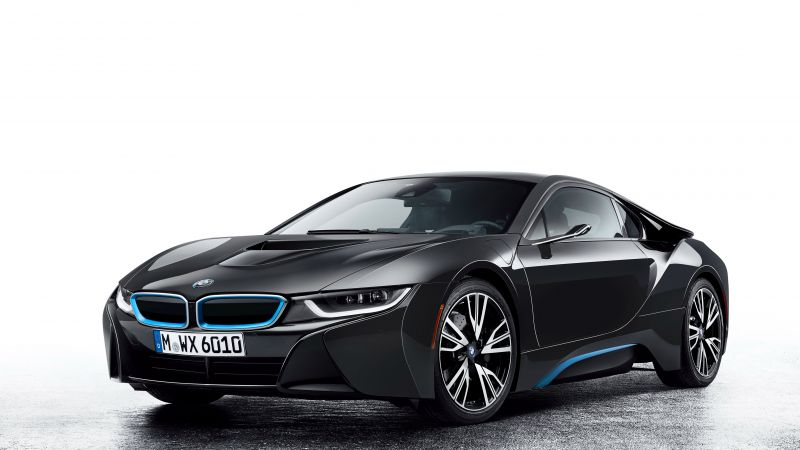 BMW i8, CES 2016, Hybrid, black (horizontal)