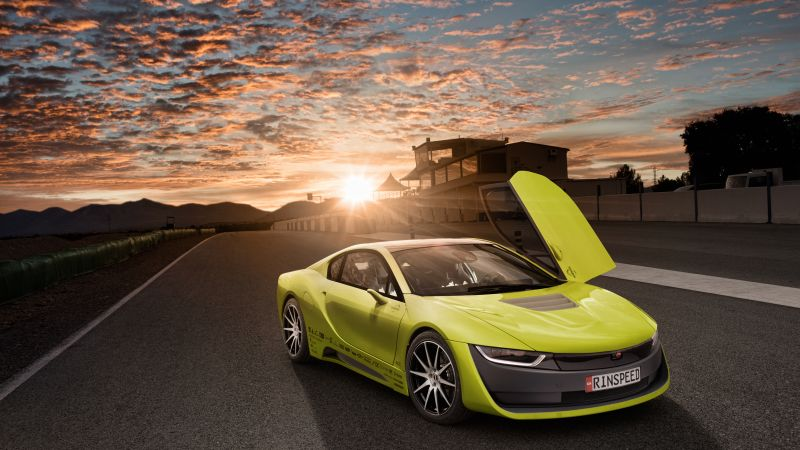 Rinspeed Etos, CES 2016, Electric Car, yellow (horizontal)