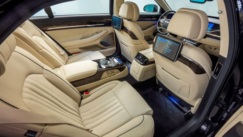 Genesis G90, luxury cars, interior (horizontal)