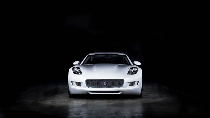 VLF Destino V8, NAIAS 2016, luxury car, white (horizontal)