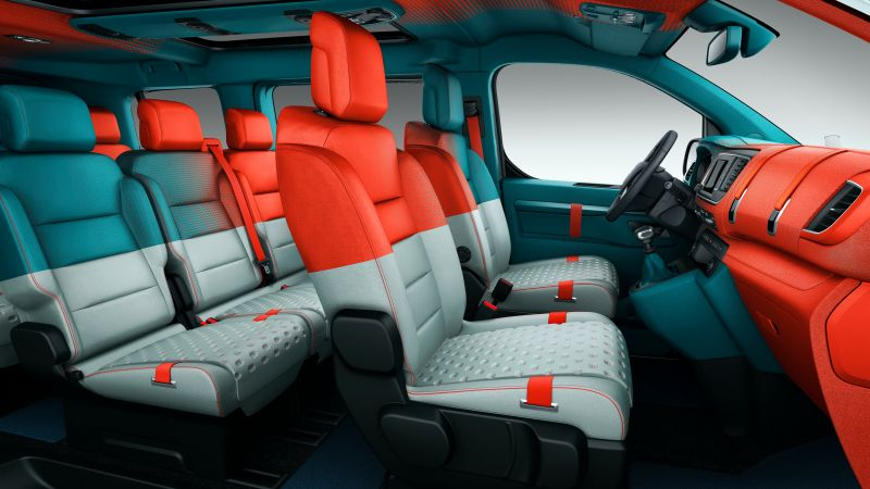 Citroën SpaceTourer Hyphen, Geneva International Motor Show 2016, interior (horizontal)