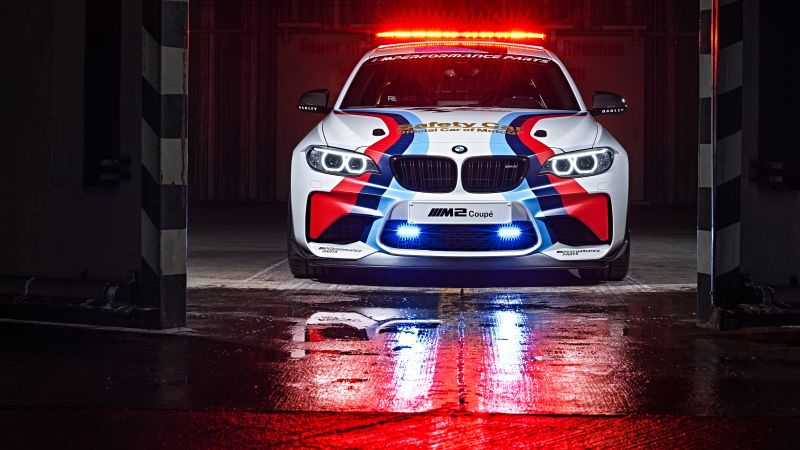 BMW M2 Coupé MotoGP, Safety Car, sport car (horizontal)