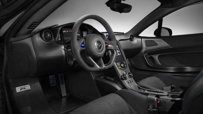 McLaren MSO P1, Geneva International Motor Show 2016, sports car, interior (horizontal)