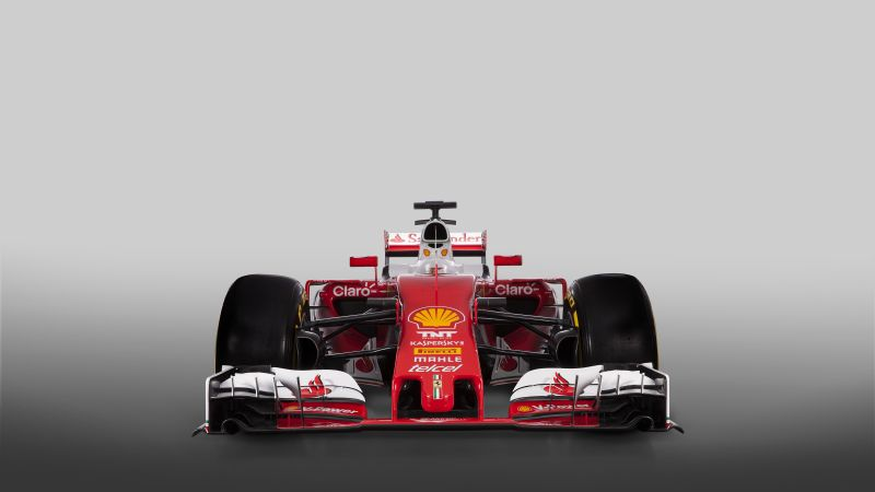 Ferrari SF16-H, Formula 1, F1, red (horizontal)