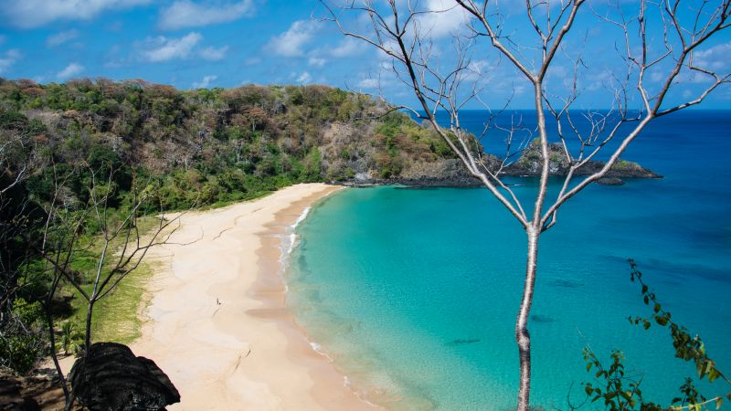 Baia do Sancho, Fernando de Noronha, Brazil, Best beaches of 2016, Travellers Choice Awards 2016 (horizontal)
