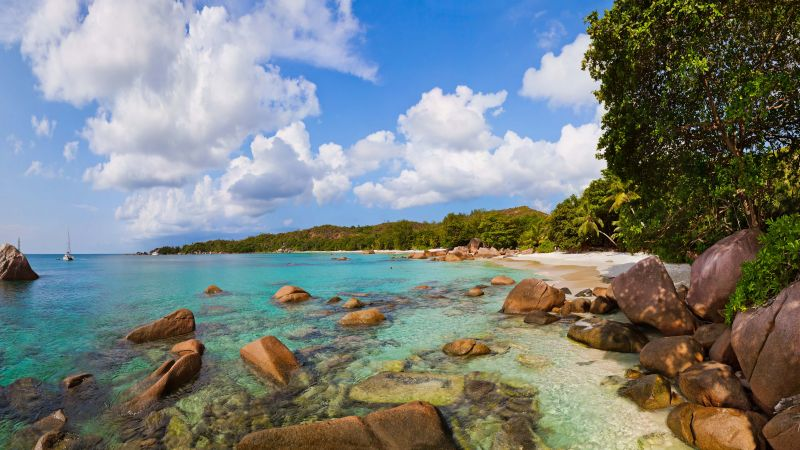 Anse Lazio, Praslin Island, Seychelles, Best beaches of 2016, Travellers Choice Awards 2016 (horizontal)