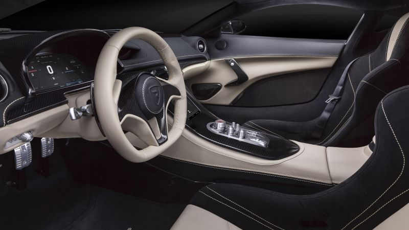 Rimac Concept One, Geneva Auto Show 2016, ultra-light super car, interior (horizontal)
