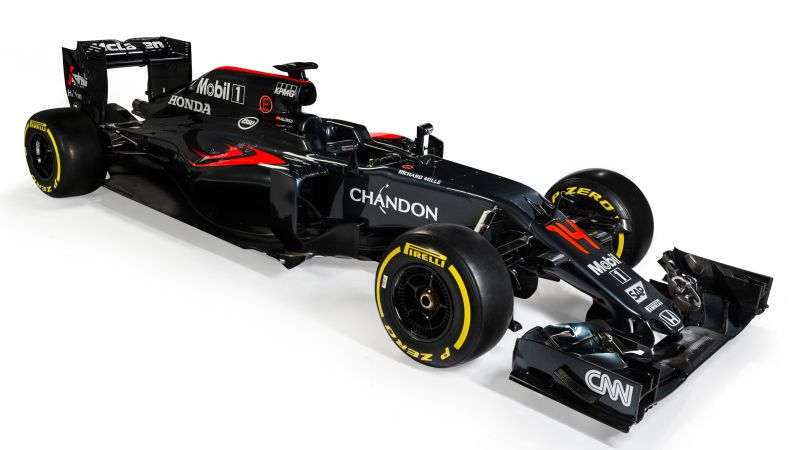 McLaren Honda MP4-31, Formula 1, LIVE from Barcelona, F1 (horizontal)