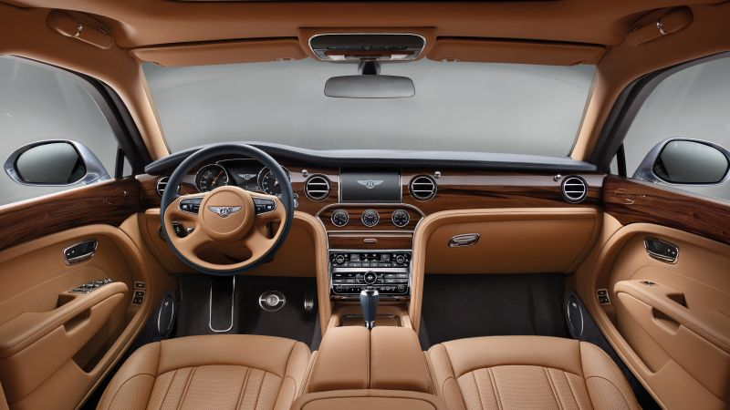 Bentley Mulsanne, Geneva Auto Show 2016, interior (horizontal)
