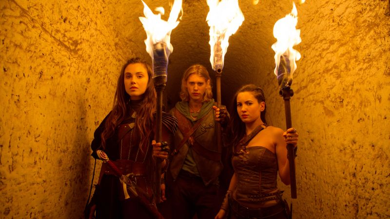 THE SHANNARA CHRONICLES, Austin Butler, Poppy Drayton, Ivana Baquero, Best TV series (horizontal)