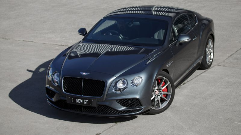 Bentley continental GT V8 S, Geneva Auto Show 2016, luxury car (horizontal)