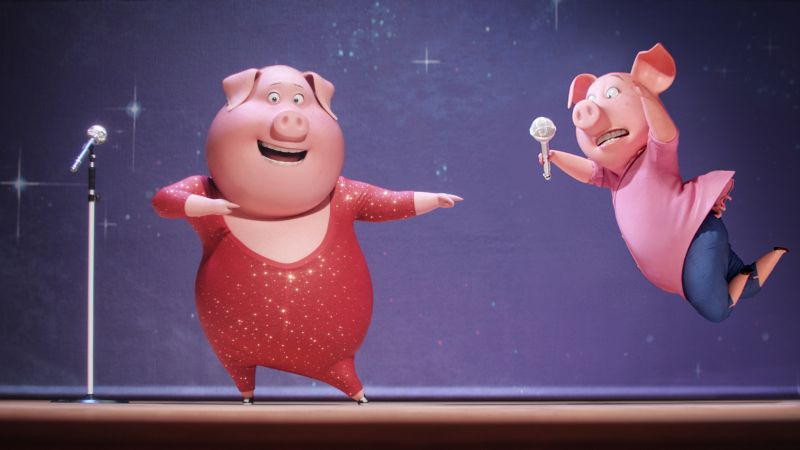 Sing, pig, gaga, best animation movies of 2016 (horizontal)