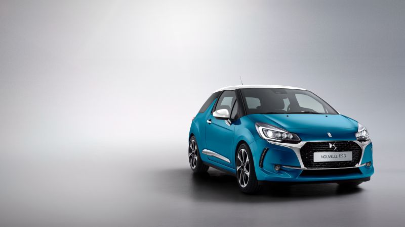 DS 3, Geneva Auto Show 2016, blue (horizontal)