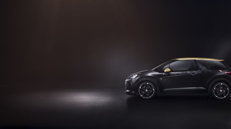 DS 3 Performance, Geneva Auto Show 2016, black (horizontal)