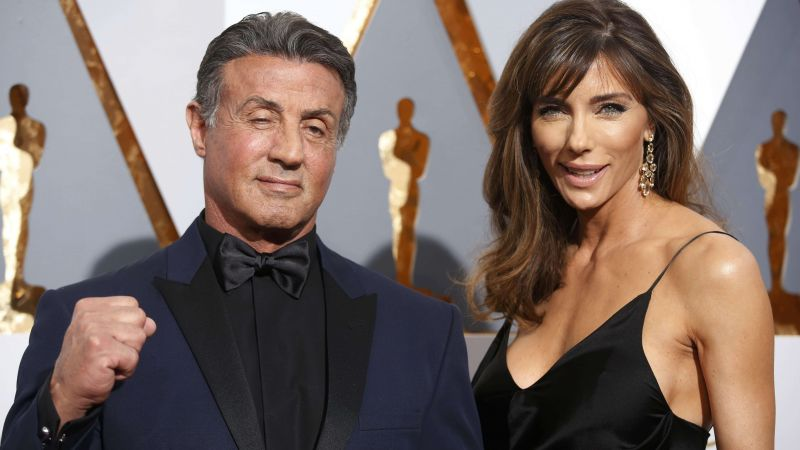 Sylvester Stallone, Jennifer Flavin, Oscar 2016, red carpet, Most popular celebs (horizontal)