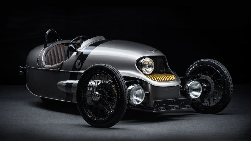 Morgan EV3 3 Wheeler, Geneva Auto Show 2016, electric car, review (horizontal)