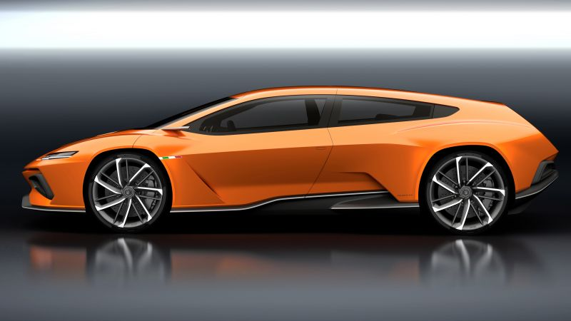 GT Zero, Geneva Auto Show 2016, Shuting break, electric cars, orange (horizontal)
