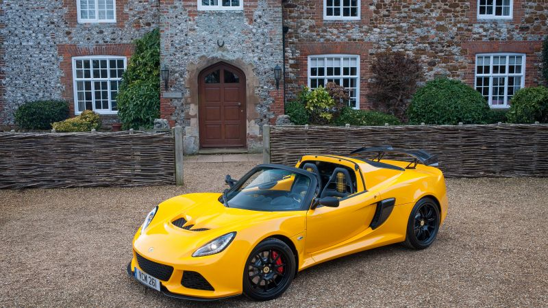 Lotus Exige Sport 350, Geneva Auto Show 2016, roadster, speed, yellow (horizontal)