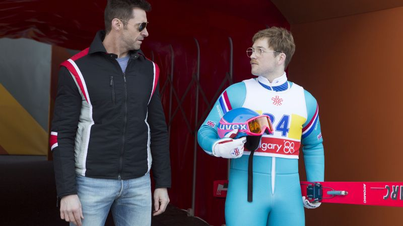 Eddie the Eagle, Taron Egerton, Hugh Jackman, best movies 2016 (horizontal)