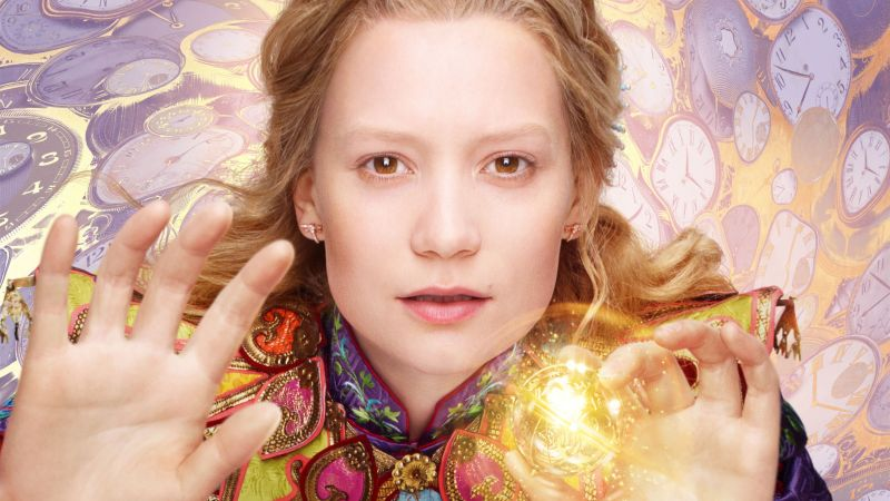 Alice Through the Looking Glass, Mia Wasikowska, best movies of 2016 (horizontal)