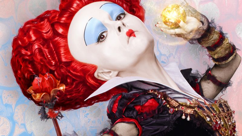 Alice Through the Looking Glass, Helena Bonham Carter, best movies of 2016 (horizontal)