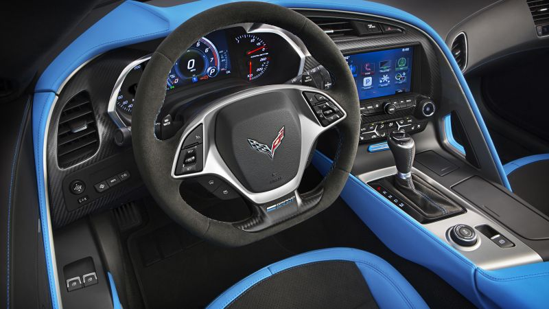 Chevrolet Corvette Grand Sport, Geneva Auto Show 2016, interior (horizontal)