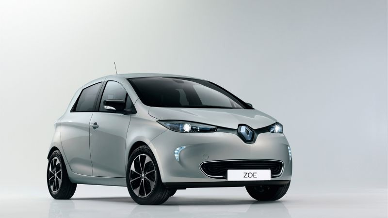 Renault Zoe Z.E., Swiss Edition, Geneva Auto Show 2016, electric car, silver (horizontal)