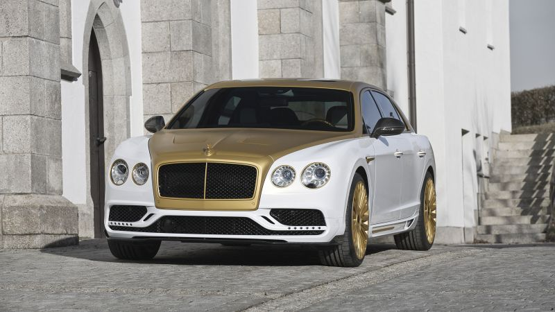 Mansory Bentley Continental, Flying Spur, Geneva Auto Show 2016, luxury cars (horizontal)