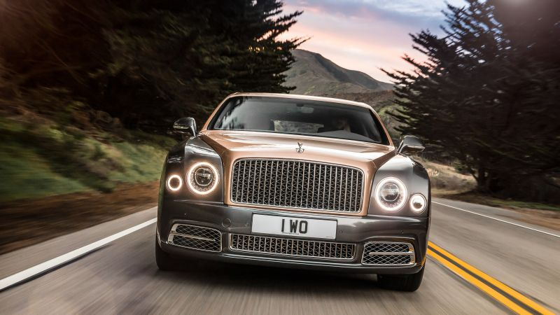 Bentley Mulsanne Extended Wheelbase, Geneva Auto Show 2016, luxury car (horizontal)