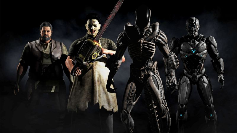 Mortal Kombat X, Kombat Pack 2, alien, jason, triborg, Best games, fighting, PS4, Xbox One (horizontal)