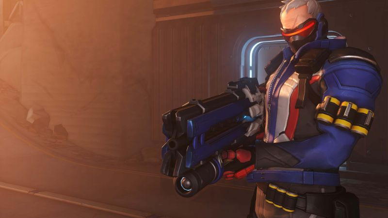 Soldier 76, HD, 4k, OVERWATCH (horizontal)