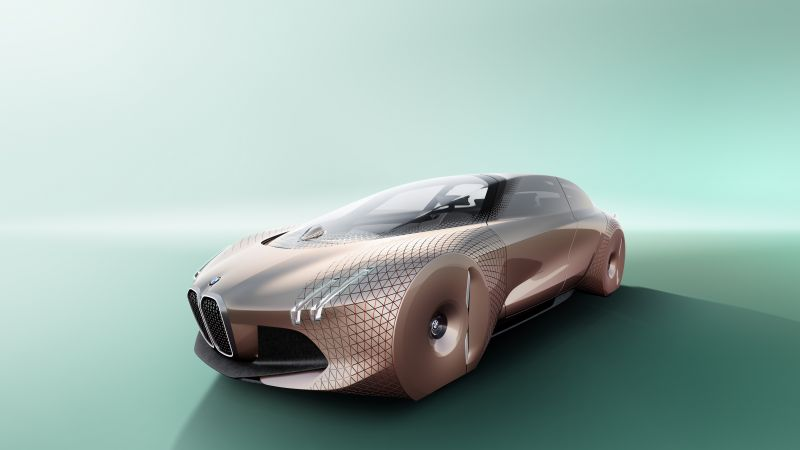 BMW Vision Next 100, future cars, luxury cars (horizontal)