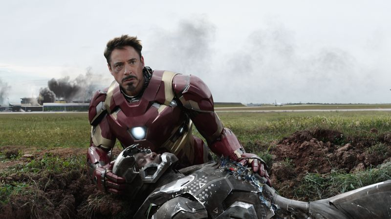 Captain America 3: civil war, Robert Downey, Jr., Don Cheadle, Marvel, best movies of 2016 (horizontal)