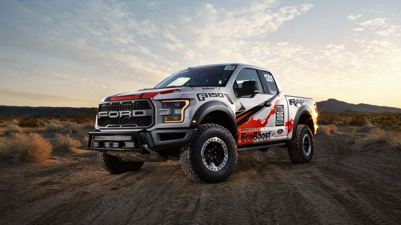 Ford F-150 Raptor, Race Truck (horizontal)
