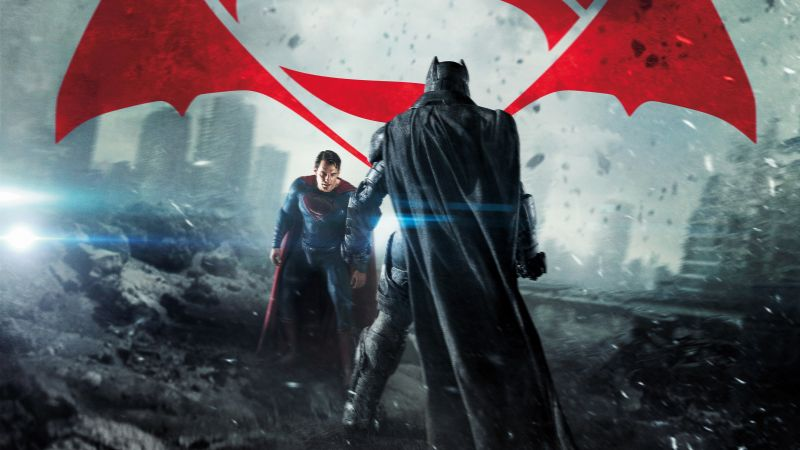 Batman v Superman: Dawn of Justice, Henry Cavill, Ben Affleck, Best Movies of 2016 (horizontal)