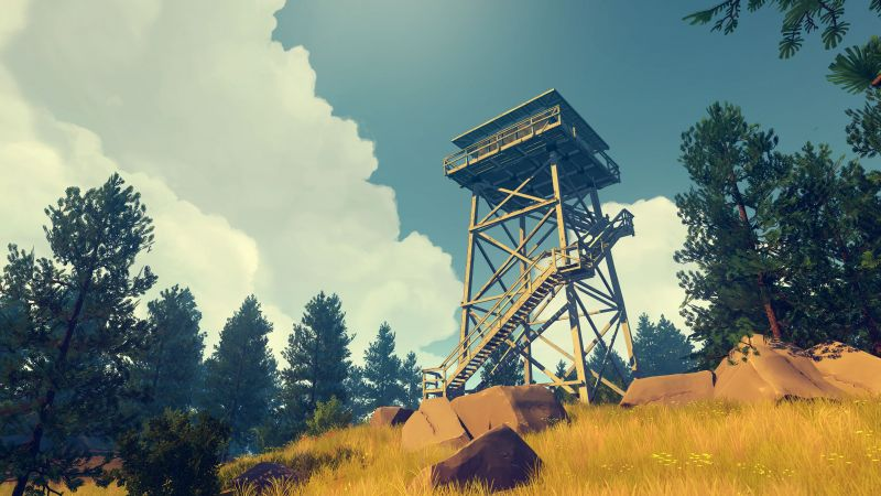 Firewatch, Best Games, game, quest, horror, PC, PS4 (horizontal)