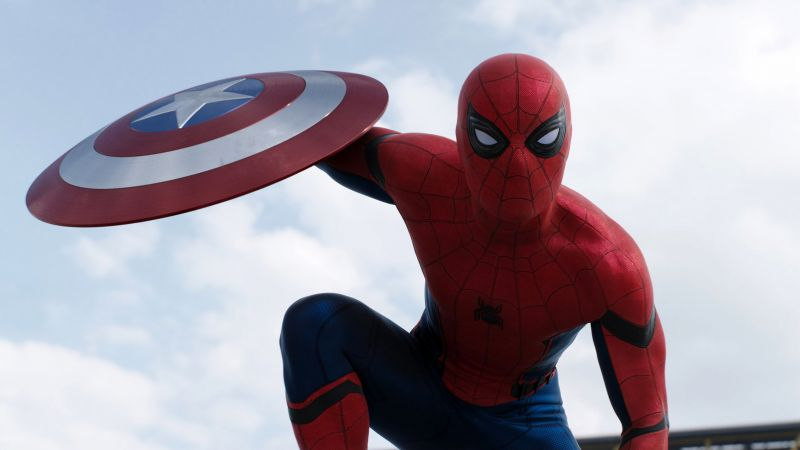 Captain America 3: civil war, SPIDER MAN Marvel, best movies of 2016 (horizontal)