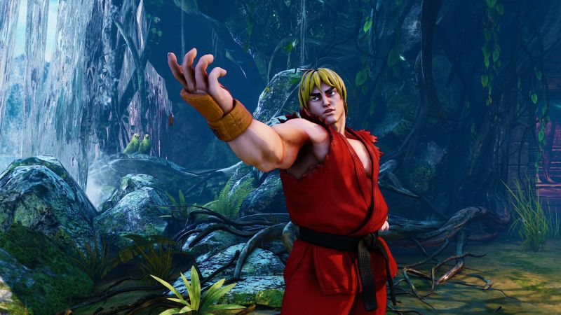 Street Fighter 5, KEN, Best Games, fantasy, PC, PS4 (horizontal)