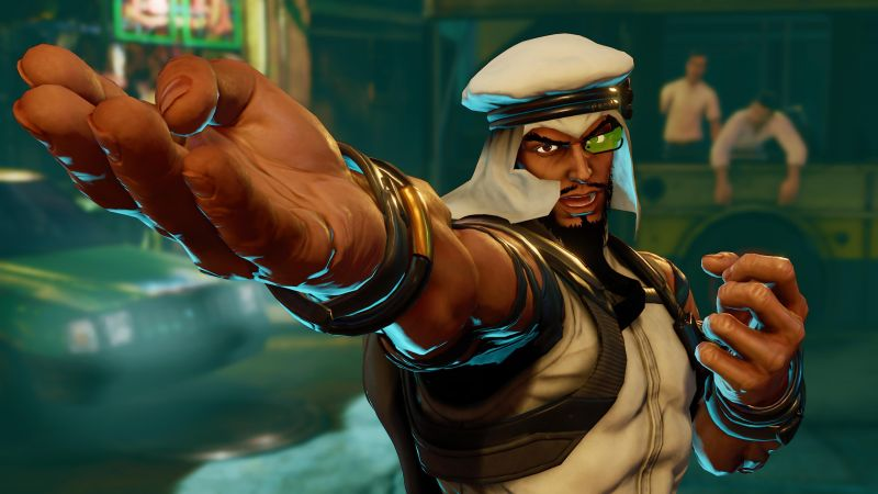 Street Fighter 5, RASHID, Best Games, fantasy, PC, PS4 (horizontal)