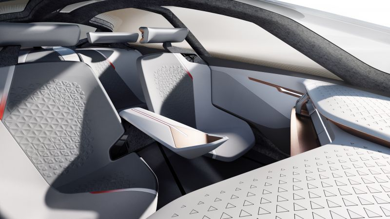 BMW Vision Next 100, future cars, interior (horizontal)