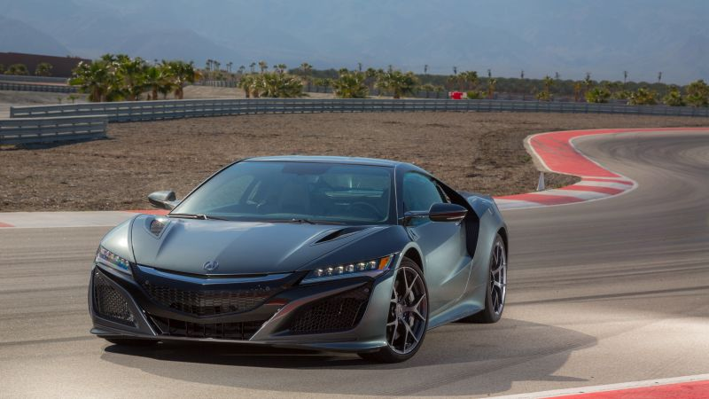Acura NSX, supercar, hypercar, speed (horizontal)