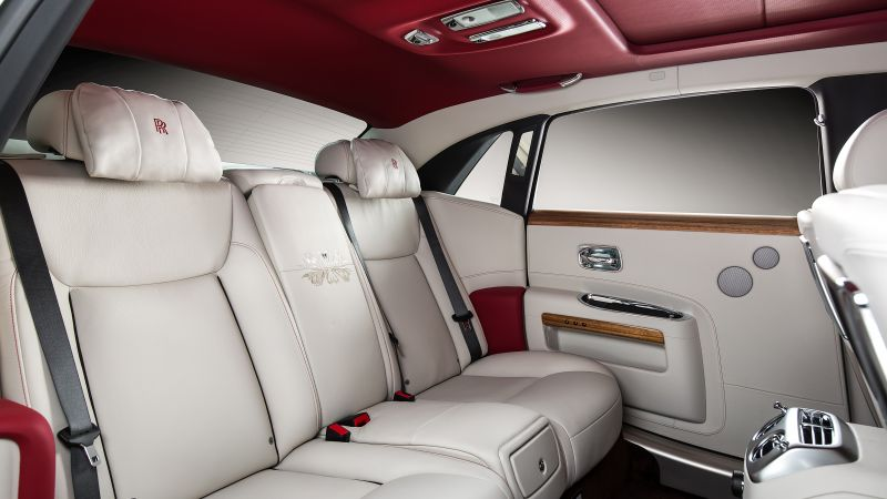 "Rolls-Royce Ghost ""Eternal Love"", luxury cars, interior (horizontal)"
