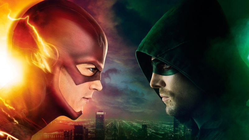 The Flash, Arrow, Best TV Series of 2016, Stephen Amell, 4 season (horizontal)
