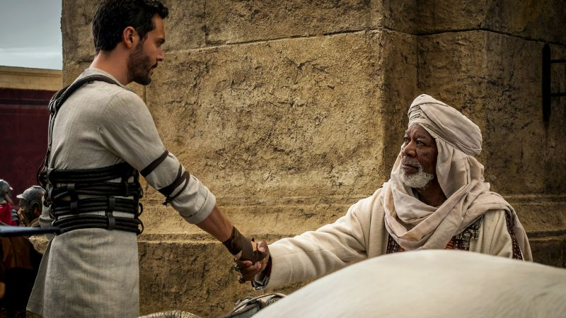Ben-Hur, Jack Huston, Morgan Freeman, best movies of 2016 (horizontal)