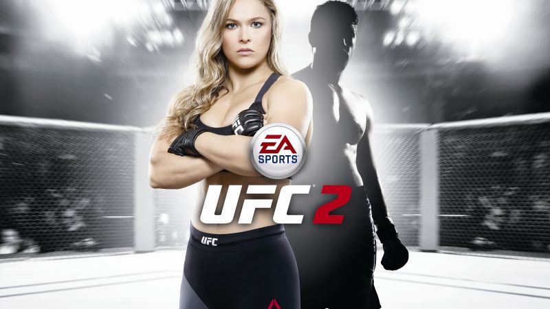 EA Sports UFC 2, Best Games, fighting, PlayStation 4, Xbox One (horizontal)