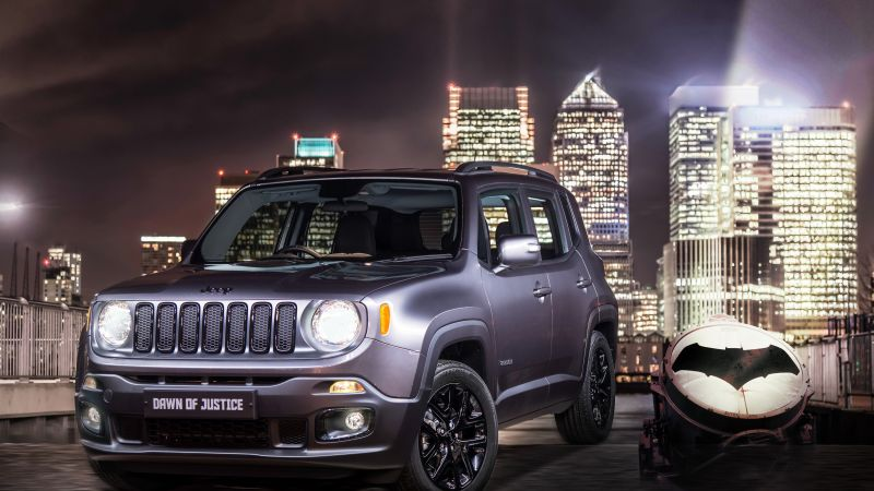 "Jeep Renegade ""Dawn of Justice, Batman v Superman: Dawn of Justice, SUV (horizontal)"