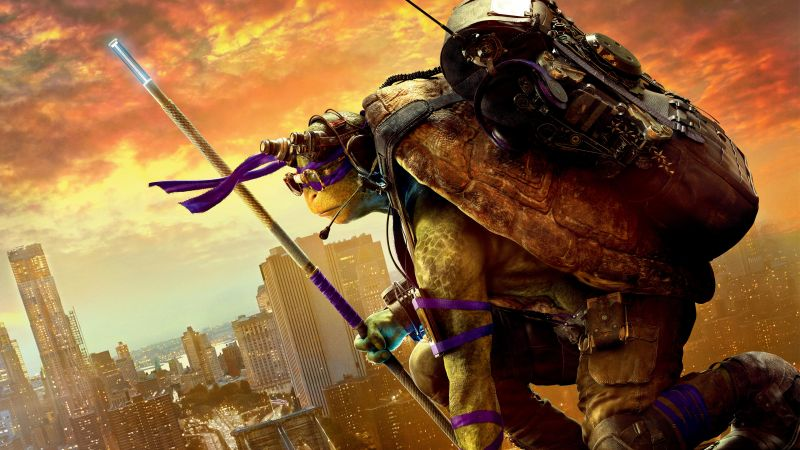 Teenage Mutant Ninja Turtles: Half Shell, Donatello, Best Movies of 2016, Turtles (horizontal)