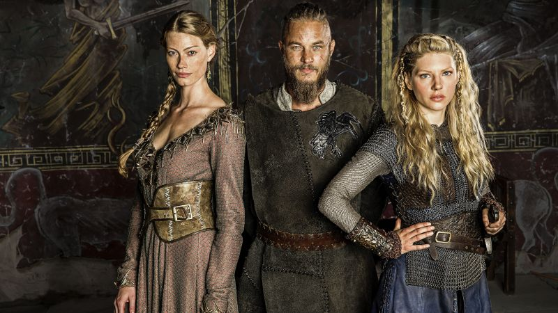 Vikings, 4 season, Travis Fimmel, Katheryn Winnick, Best TV Series of 2016 (horizontal)