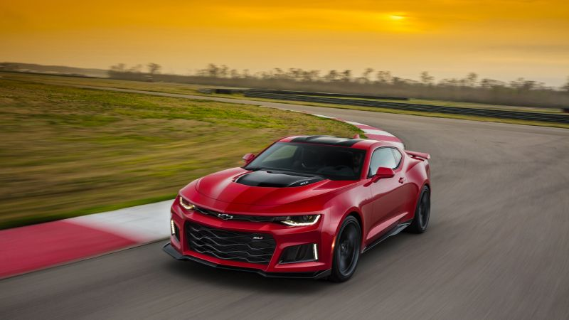 Chevrolet Camaro ZL1, NYIAS 2016, red (horizontal)